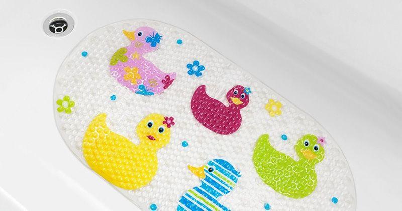 4. Lapisi bathtub karet pelindung
