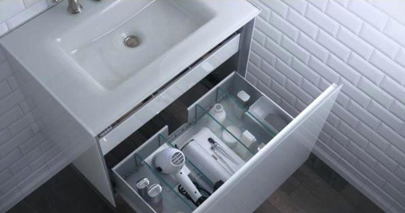 7. Menata kamar mandi secara fungsional