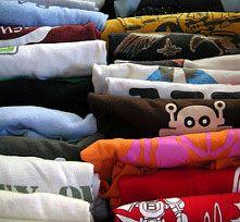 4. Gulung pakaian bahan kain
