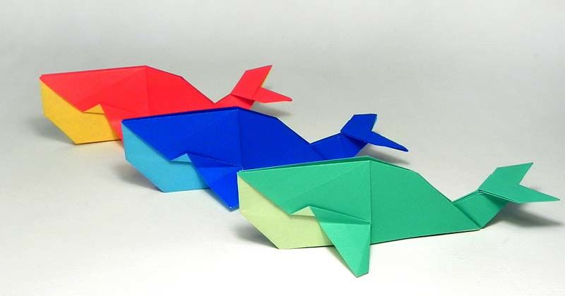 4. Kertas lipat atau origami