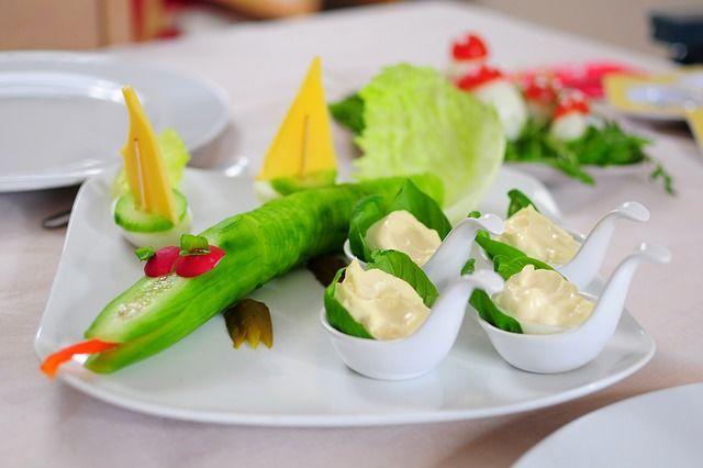 7. Buat buah sayur lebih menggoda