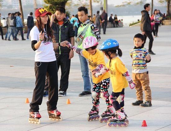 4. Inline skate