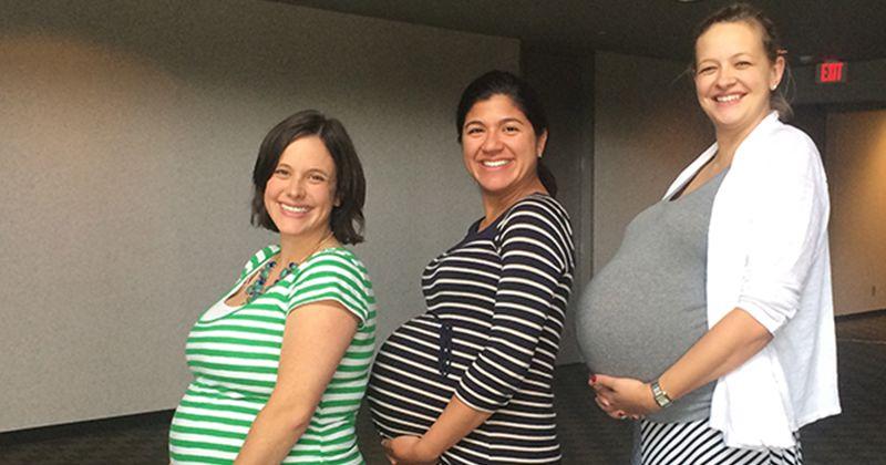 9. Perempuan bertubuh tinggi besar lebih berpeluang hamil bayi kembar