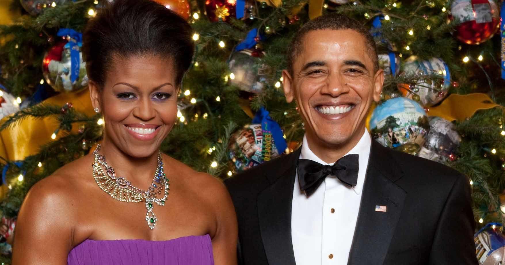 """'Natal adalah saat menerima tamu."""" Michelle Obama"""