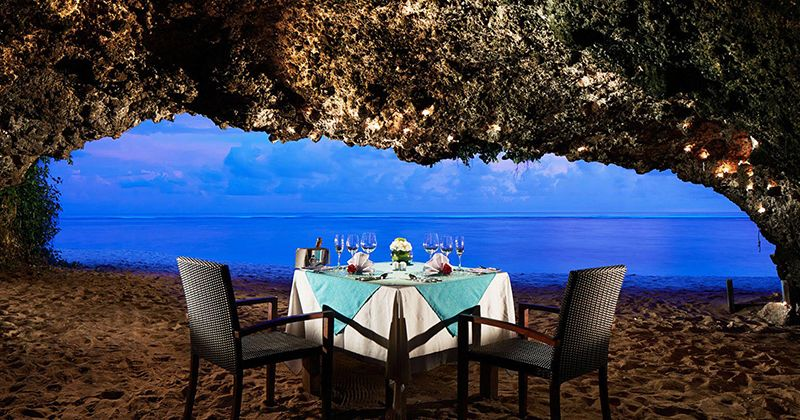 2. Fine dining romantis Samabe