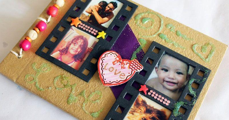 2. Buat scrap book kehamilan menulis surat bayi