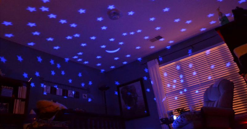 11. Gunakan lampu tidur proyektor