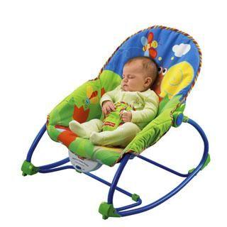 6. Gunakan baby swing atau baby rocker
