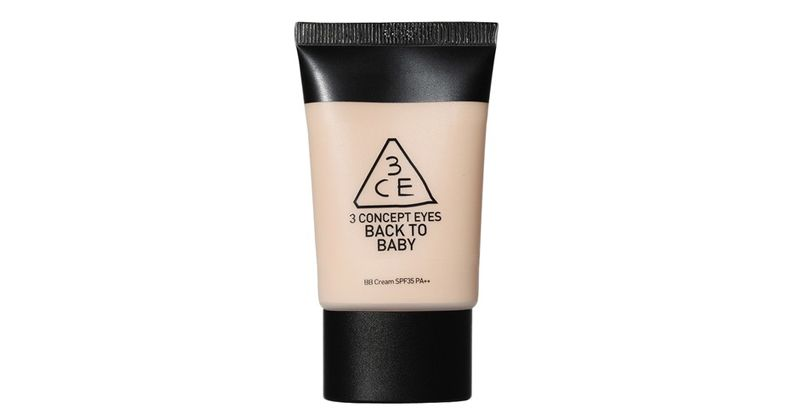 2. 3CE Back To Baby BB Cream
