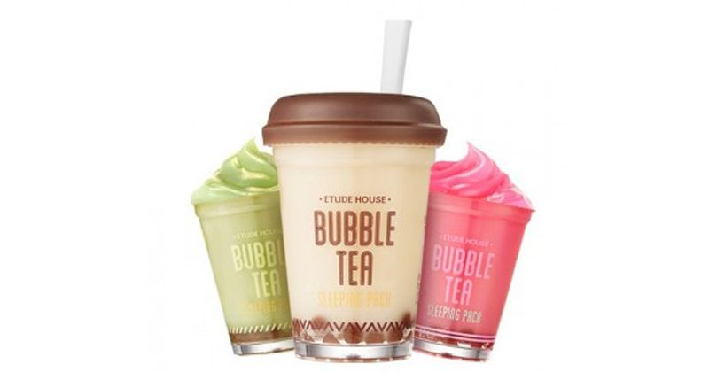 5. Etude House Bubble Tea Sleeping Pack