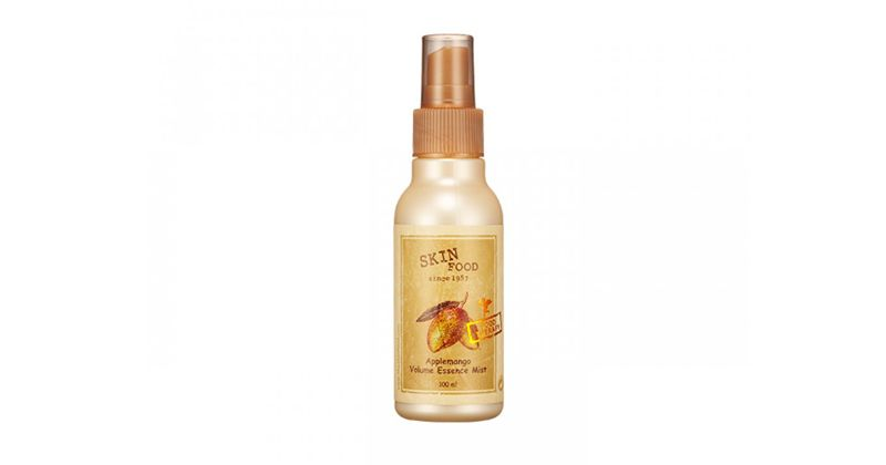 1. Skinfood Apple Mango Volume Essence Hair Mist