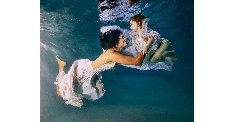 Foto keren tematik seperti tema underwater, pasti seru proses pembuatannya