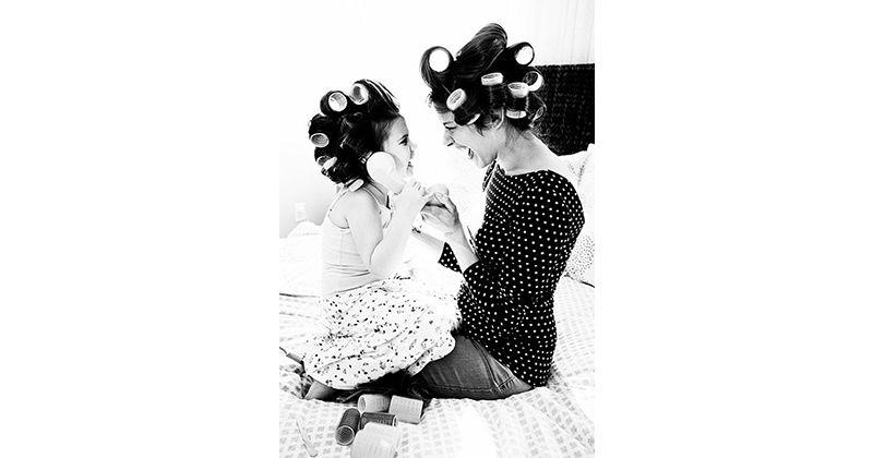 18 Foto Keren Mama Dan Anak Perempuannya Tersayang Popmama Com