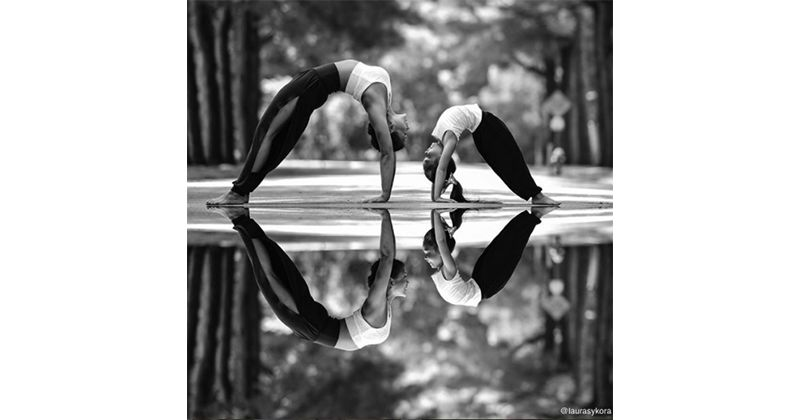 Mirroring photography