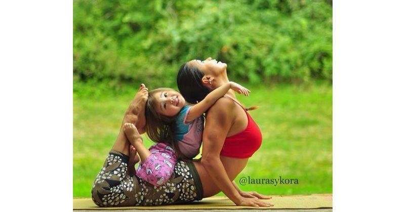 Ikut Mama yoga boleh kan