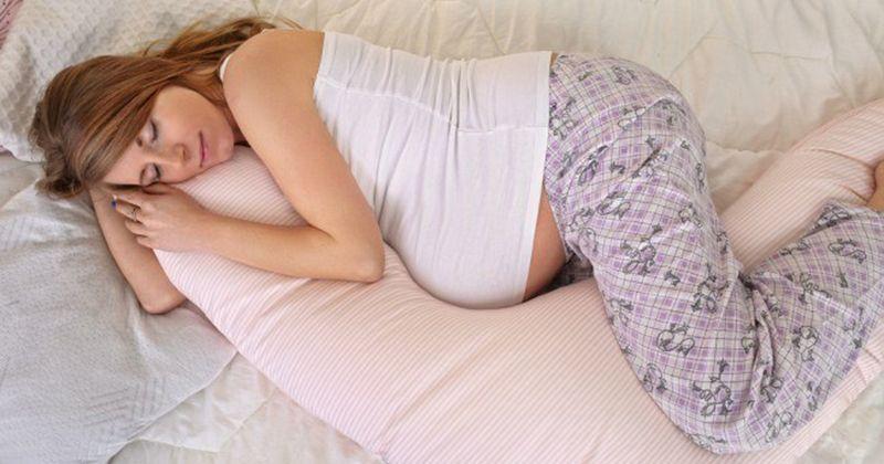 7. Posisi tidur nyaman