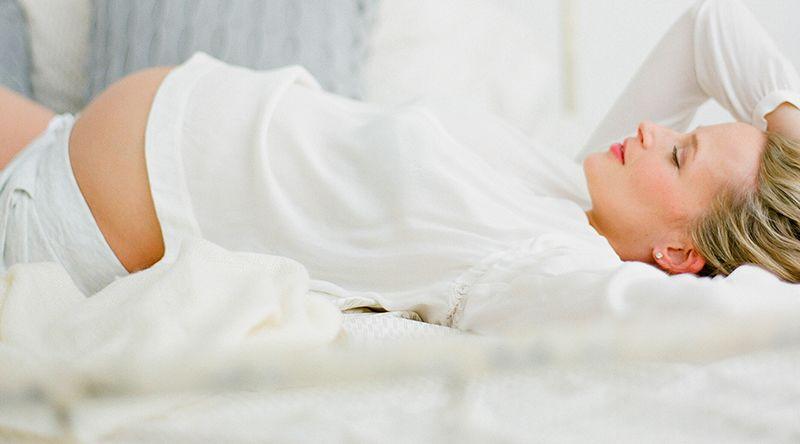 1. Bahaya tidur terlentang saat kehamilan trimester dua