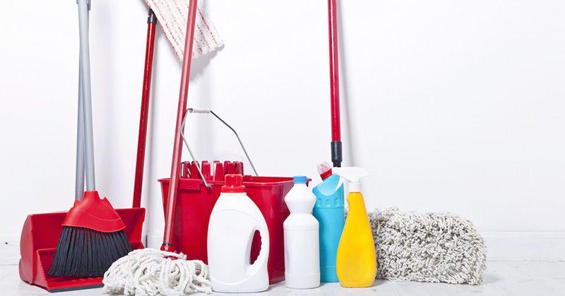 10. Alat kebersihan