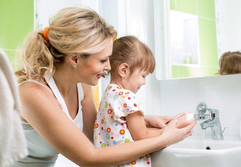 5. Bersihkan ibu jari