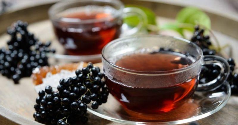 9. Pelangsing teh herbal elderberry orange blossom