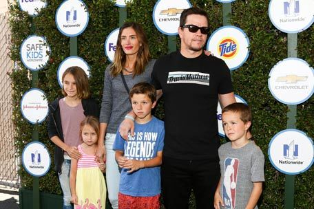 4. The Durham-Wahlberg family