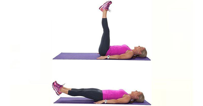 2.Leg lift