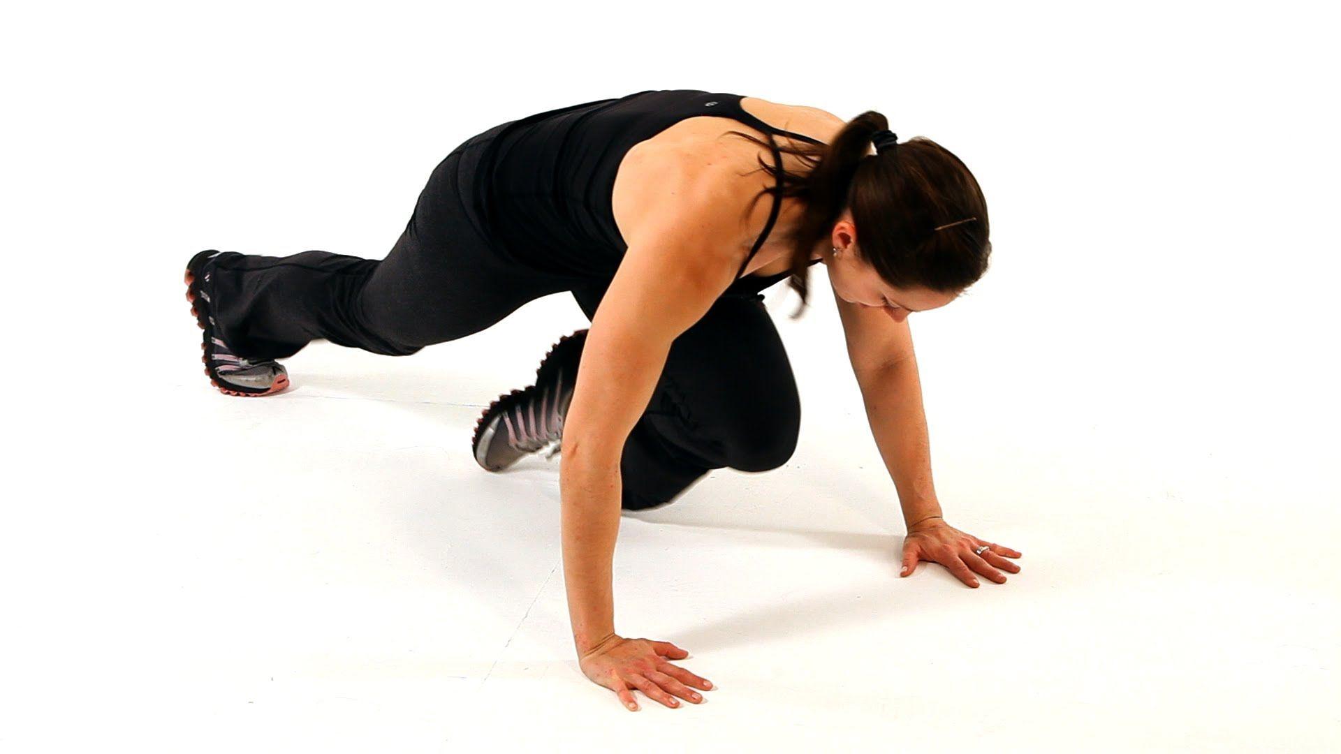 5.Plank climb