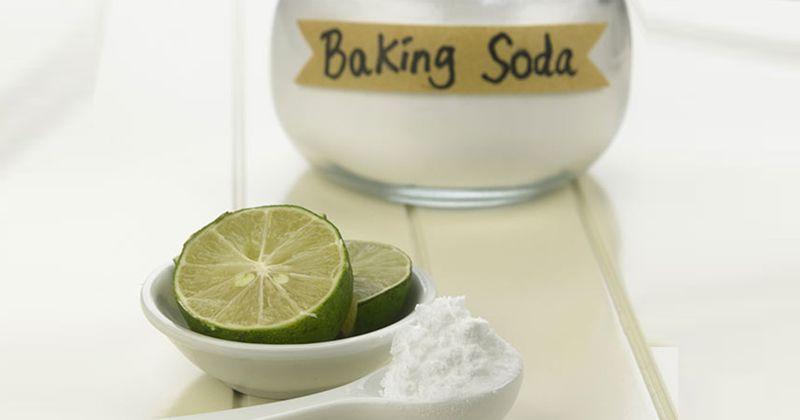 8. Baking Soda Jeruk Nipis