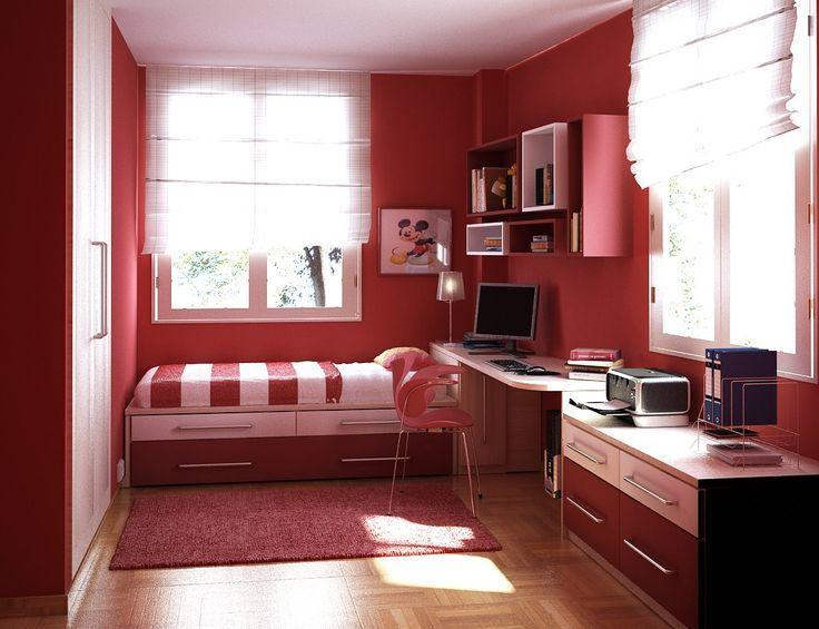6. Buat ruang penyimpanan bawah tempat tidur