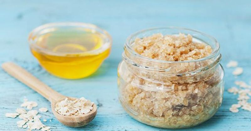 2.  DIY homemad foot scrub