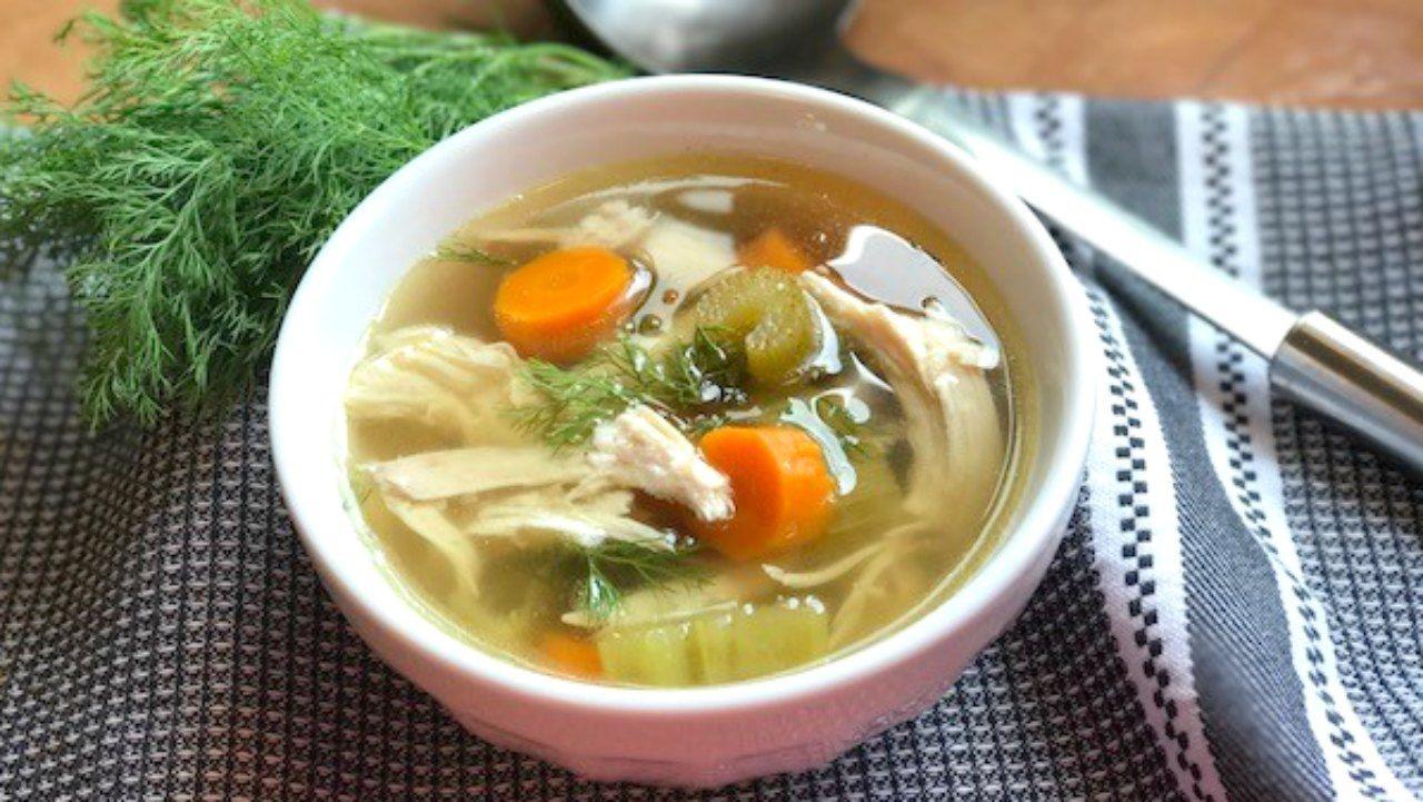 7. Sup daging hangat