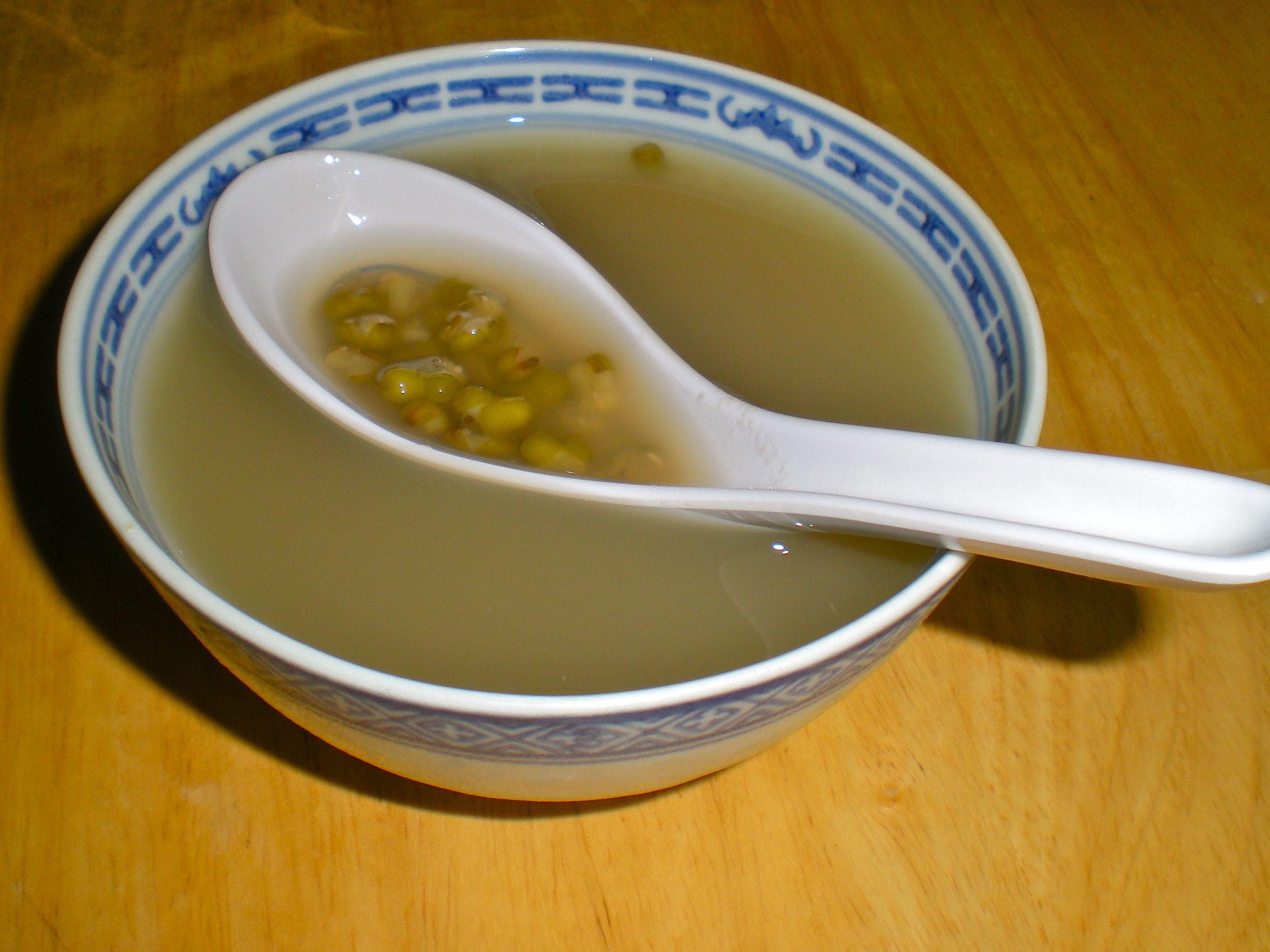 3. Air rebusan kacang hijau