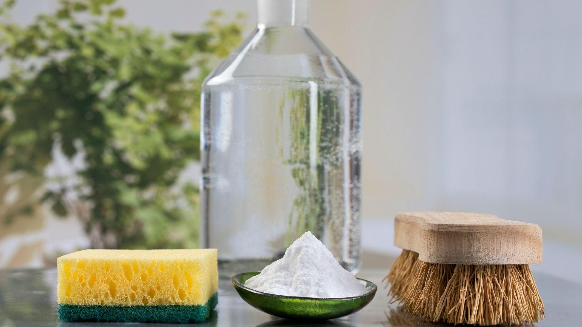 3. Gunakan cuka sabun cuci piring