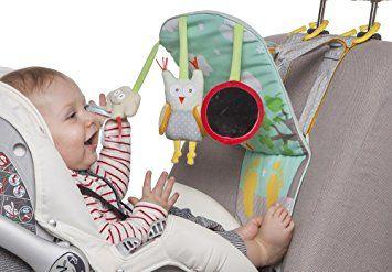 4. Mainan car seat atau stroller