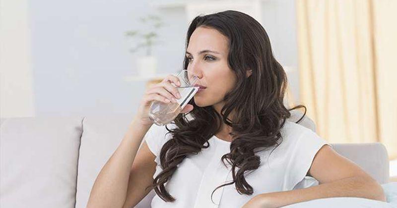 5. Minum air putih cukup