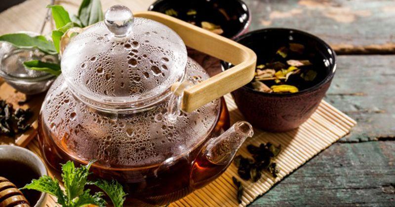 4. Ramuan teh khusus wijen gula merah
