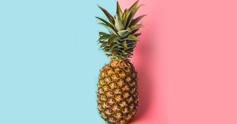 5. Rajin mengonsumsi nanas