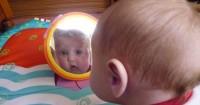 7. Cermin aman bayi