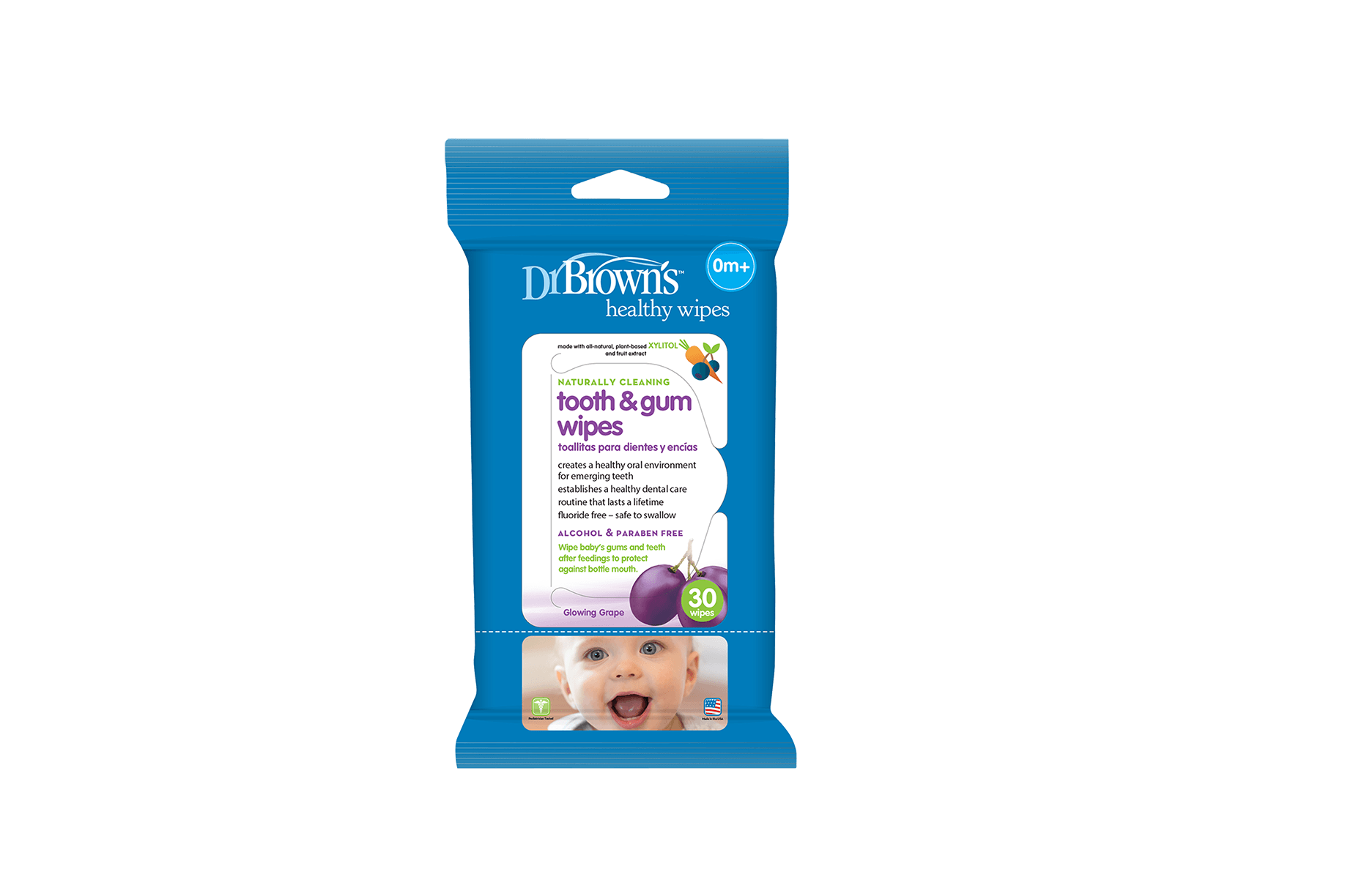 3. Dr Brown's Tooth & Gum Wipes
