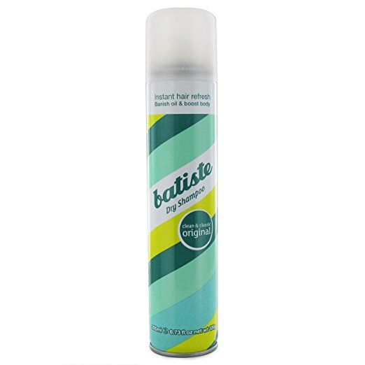7. Dry shampoo