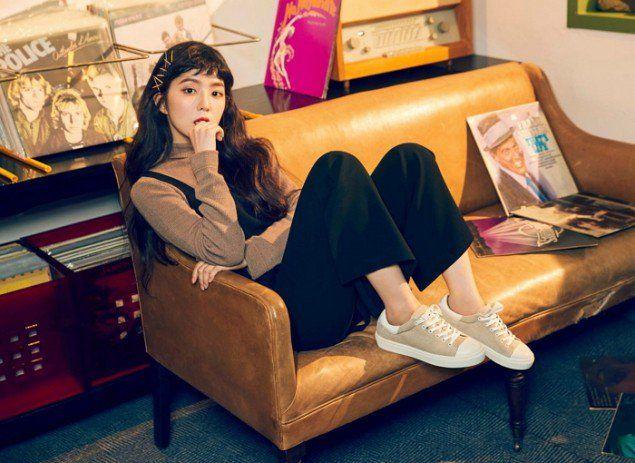 4. Pakaian make-up artis Kpop mendukung