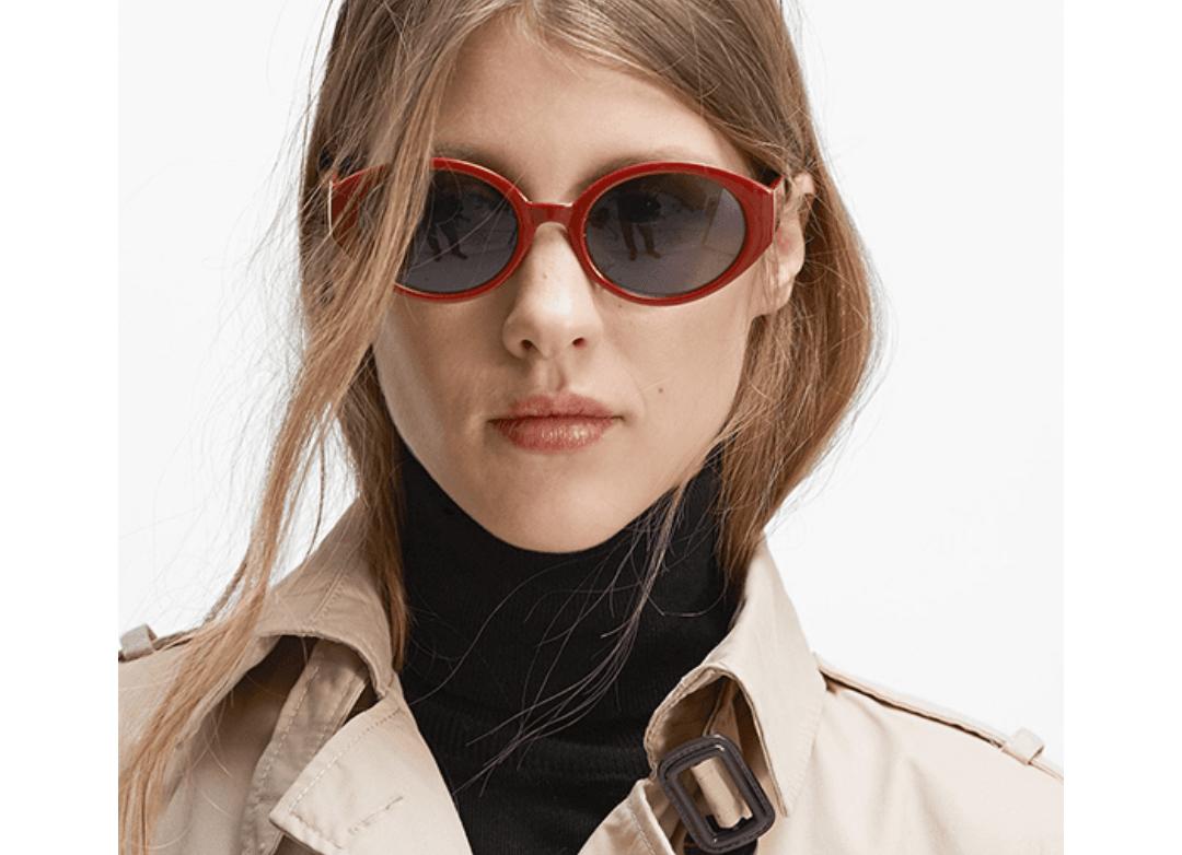 1. Kacamata hitam gaya 60's