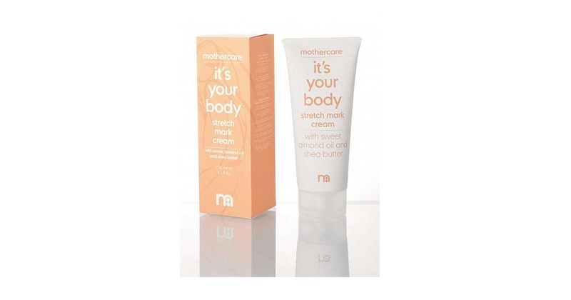 1. Mothercare It's Your Body Stretch Mark Cream