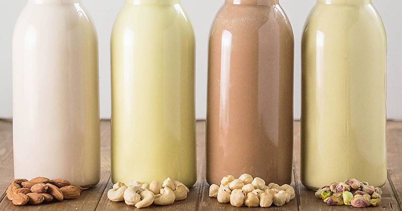 6. Sweet nut milk