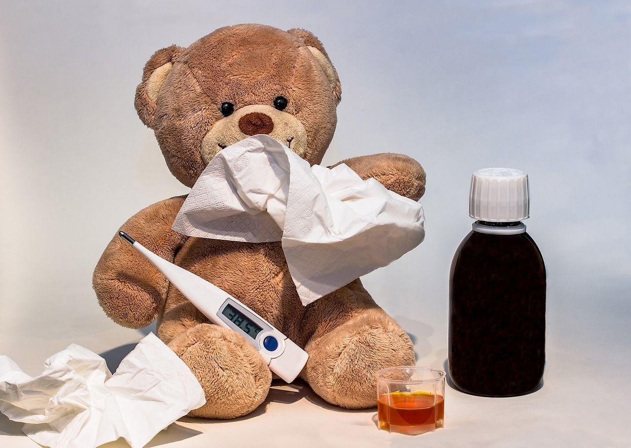 4. Infeksi hidung saluran pernapasan atas