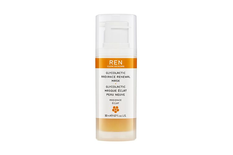 7. Ren Gycolactic Radiance Renewel Mask