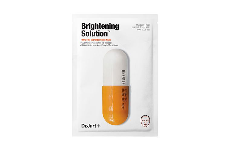 5. Dr. Jart+ Dermask Micro Jet Brightening Solution Ultra-Fine Microfiber Sheet Mask