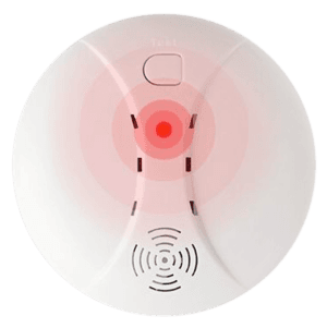 7. Pasang alat pendeteksi asap