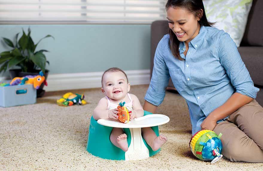 3. Dudukkan kursi bayi