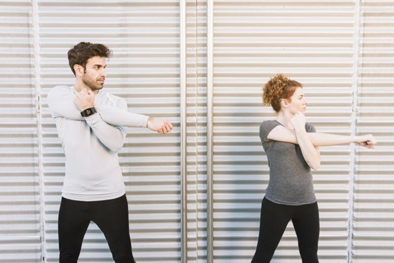 4. Stretching atau peregangan